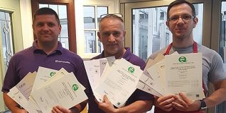 Congratulations To The Newly Qualified Reflex Team!